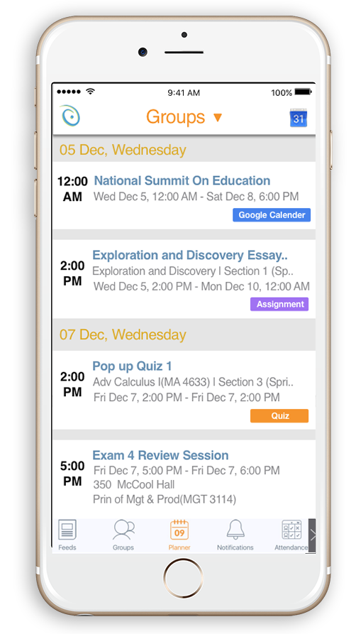campusknot_mobile_learning_app